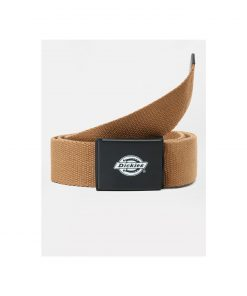 Dickies Orcutt Logo Buckle Belt Brown