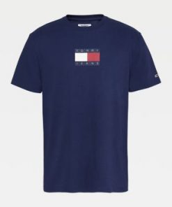 Tommy Jeans Small Flag T-Shirt Twilight Navy