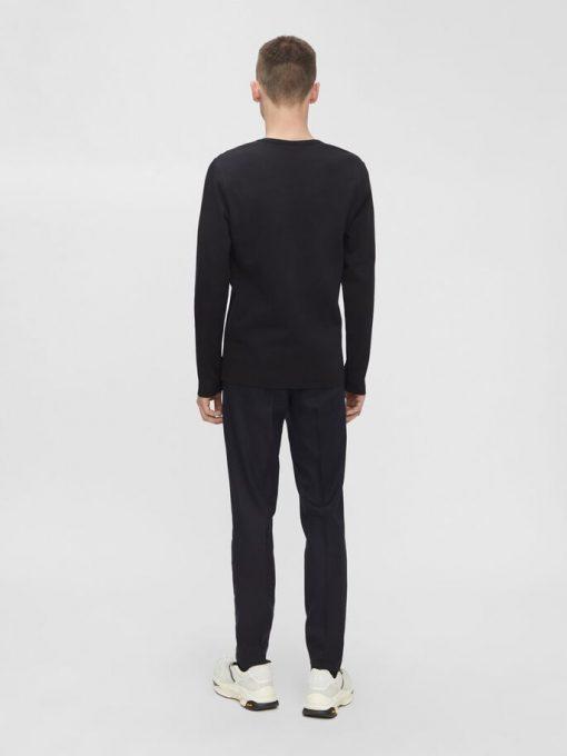 J.Lindeberg Davis Long Sleeve T-shirt Black