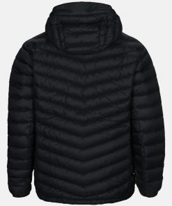 Peak Performance Frost Down Hood Jacket Men Black