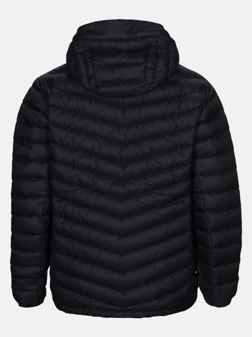 Peak Performance Frost Down Hood Jacket Men Black