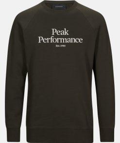 Peak Performance Original Crew Men Coniferous Green