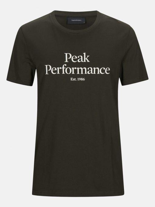 Peak Performance Original Tee Men Coniferous Green