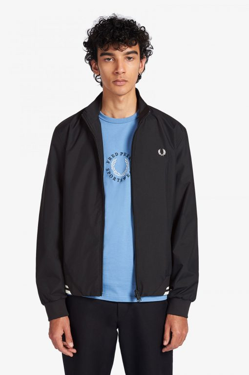 Fred Perry Brentham Jacket Black