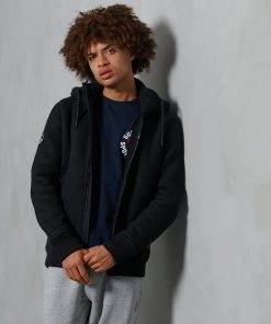 Superdry Expedition Zip Hoodie Black