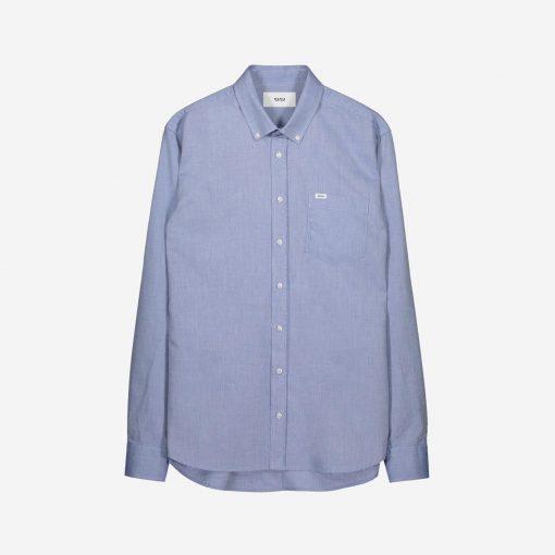 Makia Flagship Shirt Blue
