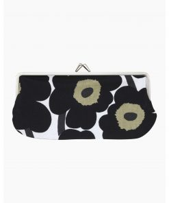 Marimekko Mini Unikko Purse Black