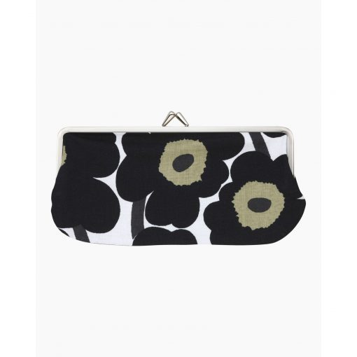Marimekko Mini Unikko Purse Black