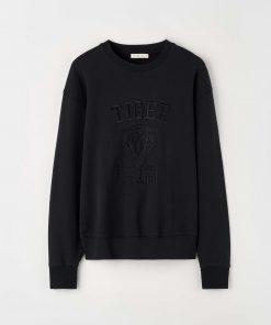 Tiger Jeans Zoab Emb Sweatshirt Black