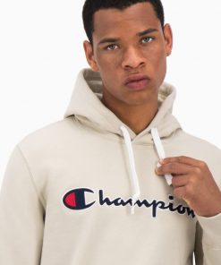 Champion Hooded Sweatshirt Wheat