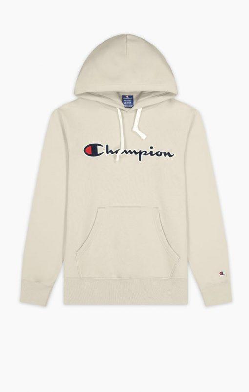 Champion Hooded Sweatshirt Wheat