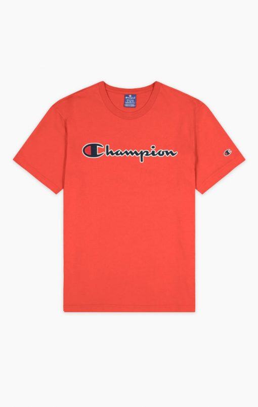 Champion Crewneck T-shirt Red