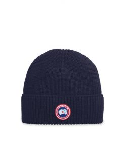 Canada Goose Arctic Disc Rib Toque Unisex Navy Heather