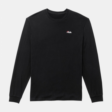 Fila Eitan Long Sleeve Shirt Black