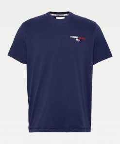 Tommy Jeans Chest Corp Tee Twilight Navy