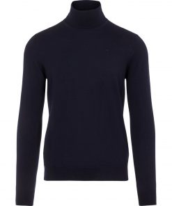 J.LINDEBERG LYD MERINO TURTLENECK SWEATER CLOUD NAVY