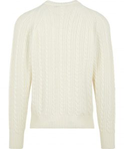 J.LINDEBERG HENRY CABEL SWEATER CLOUD WHITE
