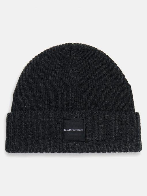 Peak Performance Volcan Hat Dark Grey Melange
