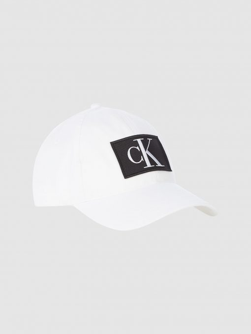 Calvin Klein Cotton Twill Cap Bright White