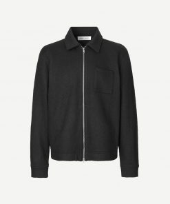 Samsoe & Samsoe Kaitos Zip Jacket Black