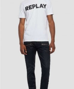 Replay Logo T-shirt White