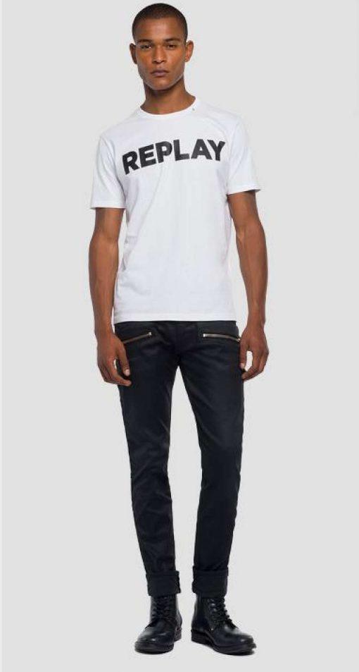 Replay Logo T-shirt White