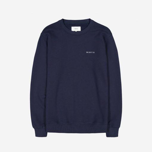 Makia Trim Sweatshirt Dark Blue