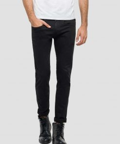 Replay Anpass Hyperflex Jeans Black