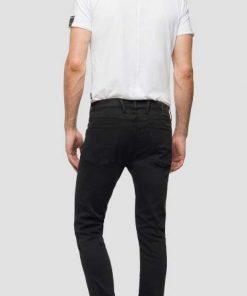 Replay Anpass Hyperflex Jeans Black