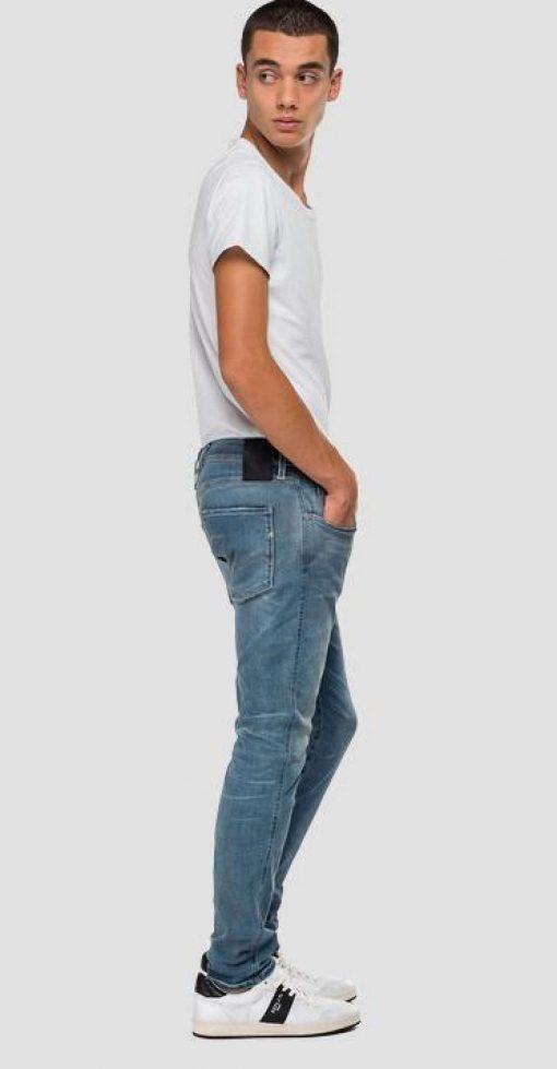 Replay Anbass Hyperflex Bio Jeans Light blue