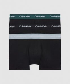 Calvin Klein 3 Pack Low Rise Trunks Black