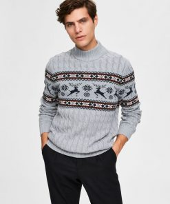 Selected Homme Oh My Deer Jumper
