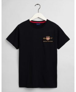 Gant Archive Shield T-shirt Black