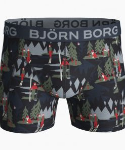 Björn Borg Sammy Cotton Stretch Boxers Winter Wonderland 2-Pack
