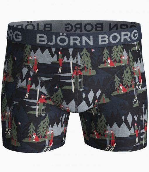 Björn Borg Sammy Cotton Stretch Boxers Winter Wonderland 2-Pack