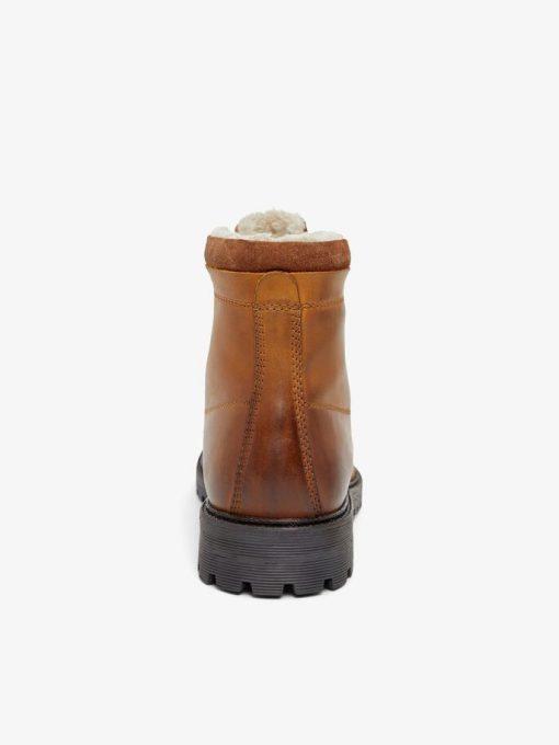 Bianco Biadaren Warm Boot Cognac