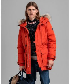 Gant Arctic Down Parka Dark Orange