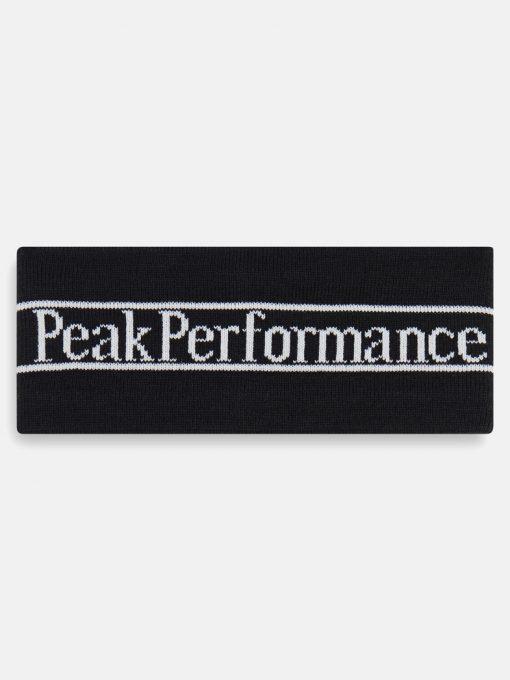 Peak Performance Pow Headband Black