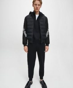 Calvin Klein Stretch Logo Jacket Black