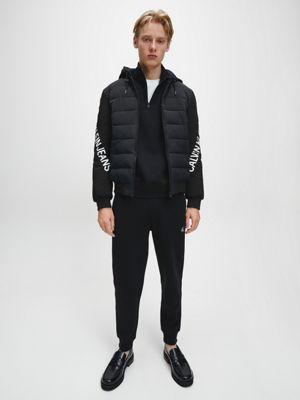 Calvin Klein Stretch Logo Jacket Black