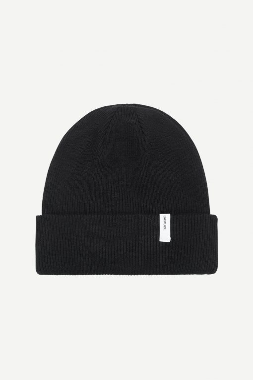 Samsoe & Samsoe The Beanie X Black
