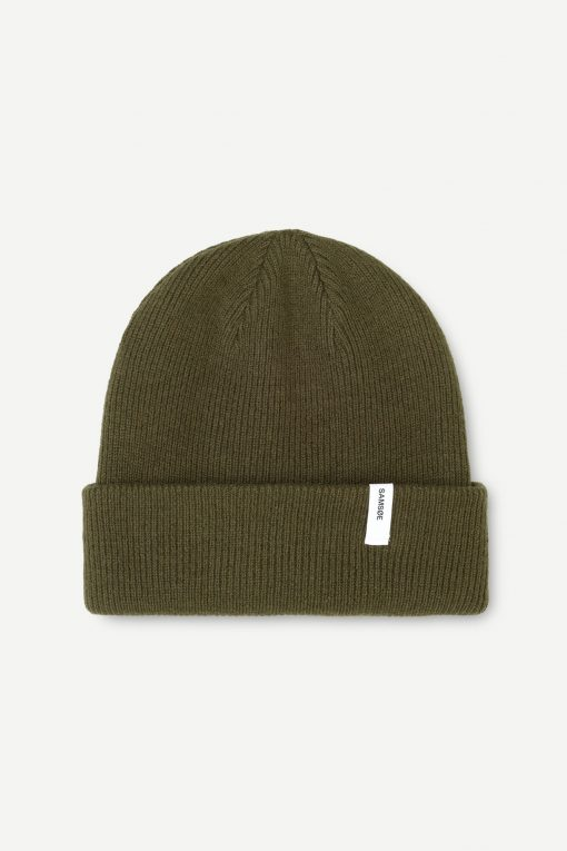 Samsoe & Samsoe The Beanie X Dark Olive
