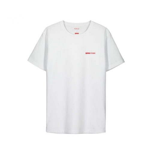 Makia x Rapala Friend T-shirt White