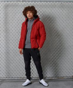 Superdry Evolution Puffer Jacket Rouge Red