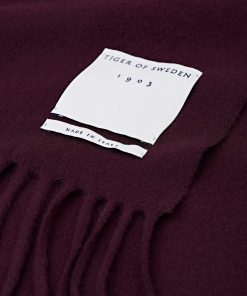 Tiger of Sweden Sylan Scarf Burgundy