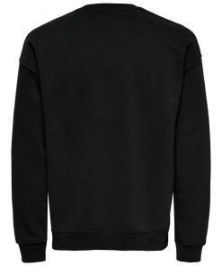 Only & Sons Dancel Crew Neck Black