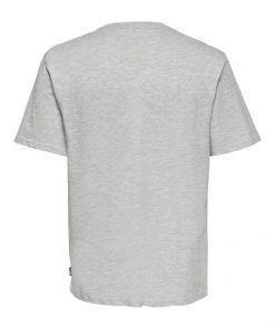 Only & Sons Coca Cola Xmas T-shirt Grey