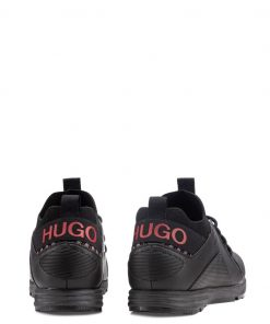 Hugo Boss Hybrid Runn Sneakers Black