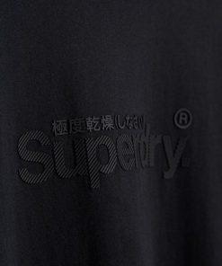 Superdry Core Logo Tonal Tee Black