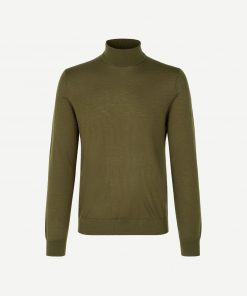 Samsoe & Samsoe Flemming Turtle Neck Dark Olive